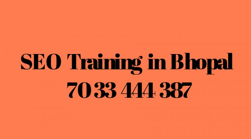 seo training in bhopal