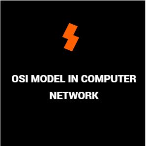 osi model in computer network