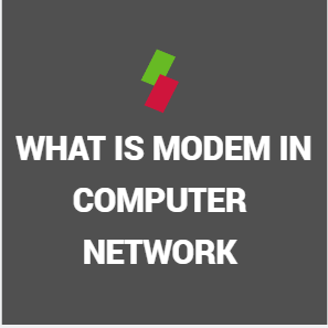 what is modem in computer