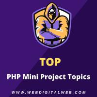 php mini projects topics