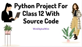 python project for class 12 with source code