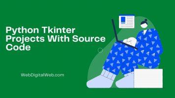 Python Tkinter Projects  Source  code