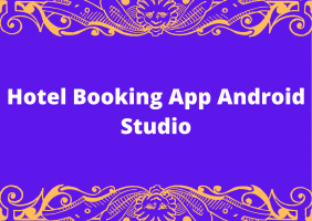 Hotel Booking App Android Studio