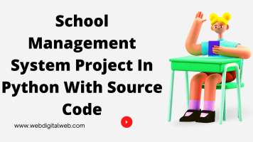 School Management System Project In Python