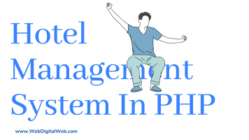 hotel management system project using php and mysql